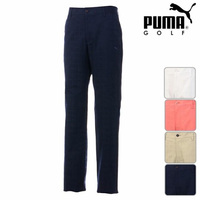 PUMA GOLF プーマゴルフ ノータックロングパンツ ...