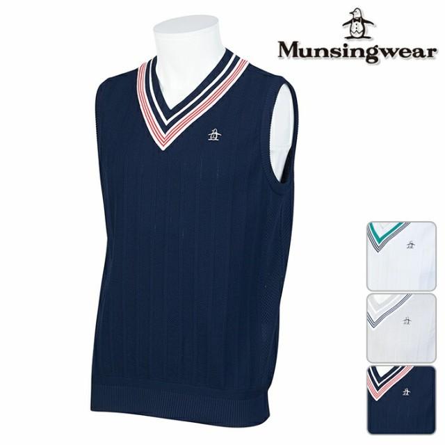 ◆ Munsingwear マンシングウエア Vネック ベスト...