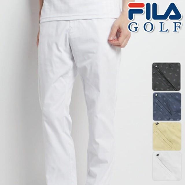 FILA GOLF フィラゴルフ ノータック ロングパンツ...