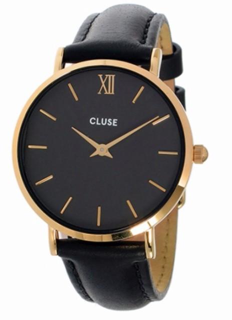 [クルース] CLUSE 腕時計 ミニュイ レザーベルト ...