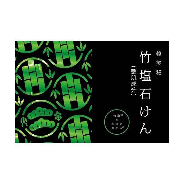 トイレタリージャパンインク 韓美秘竹塩石けん 松...