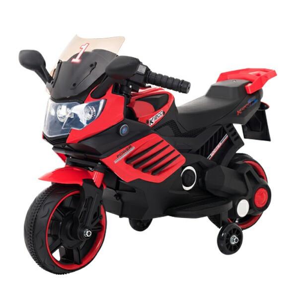 電動乗用バイク レッド ホワイト 充電器付き CBK-...