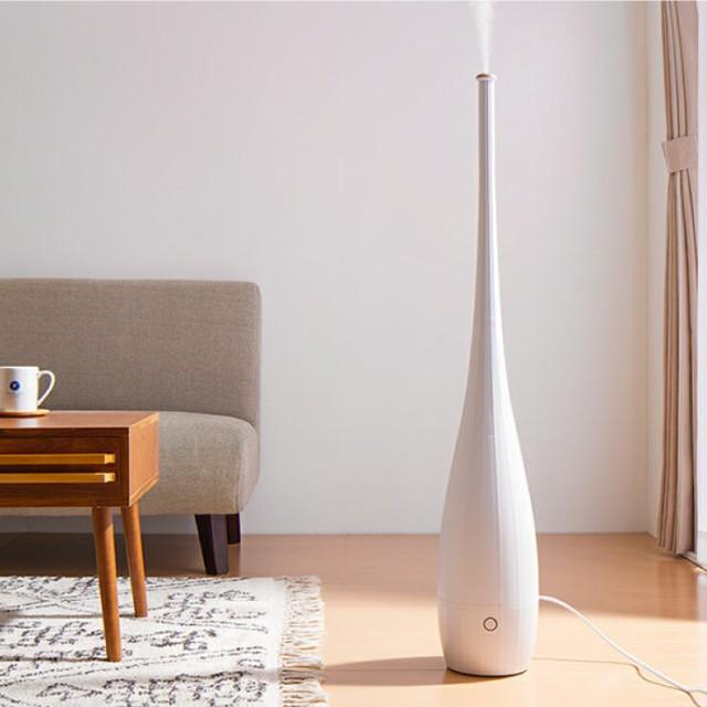 ハイポジション 超音波加湿器 4L タワー型 超音波...
