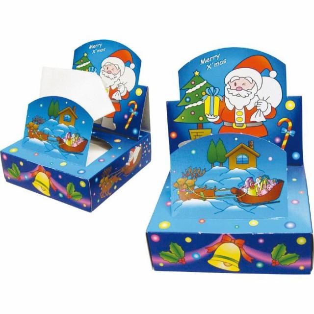 クリスマス遊遊ティッシュ 季節商品 クリスマスサ...