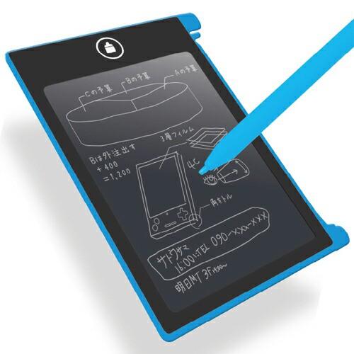 トーシン産業 電子メモパッド ブルー AS50751