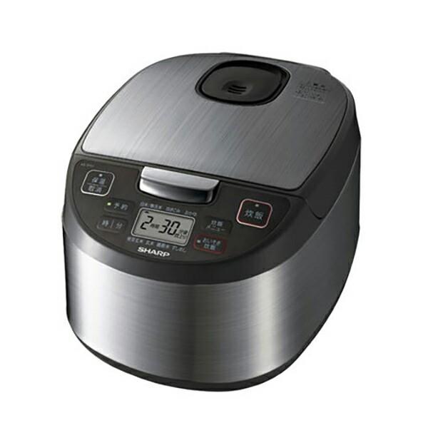 シャープ ジャー炊飯器 5.5合 KS-S10J-S シルバー...