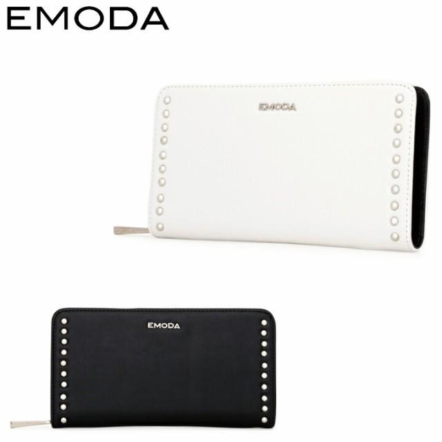 エモダ EMODA 長財布 EM-9758 スタッズ ラウンド...