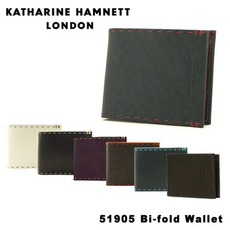 キャサリン ハムネット 二つ折財布 490-51905  KA...