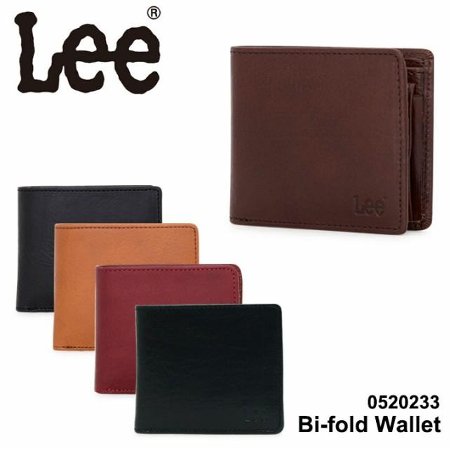 リー Lee 二つ折り財布 0520233 イタリアンレザー...