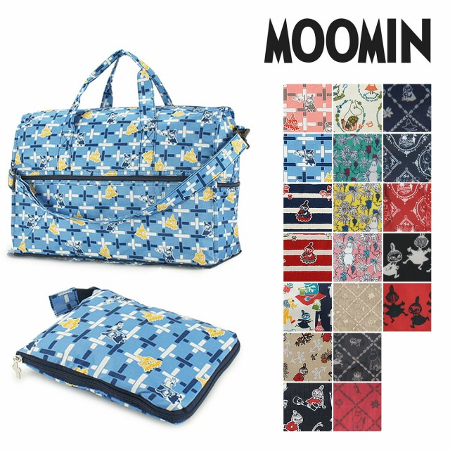 ムーミン MOOMIN コンパクト ボストンバッグ MM3-...
