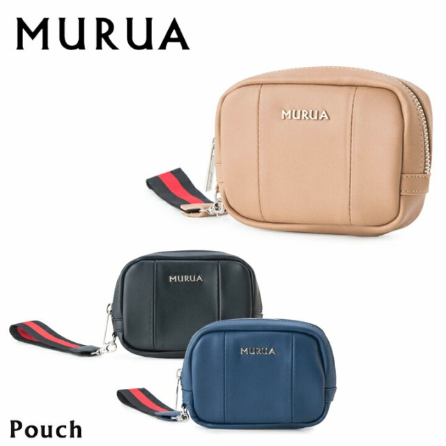 ムルーア MURUA ポーチ MR-P543 ストラップ ミニ...