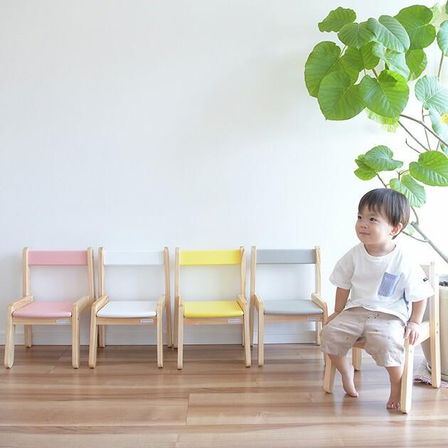 Circle キッズチェア  キッズチェア 子供椅子 木...