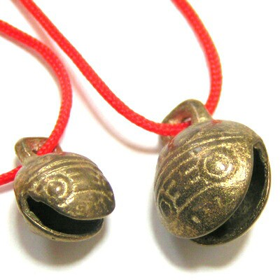 貔貅起こしミニ銅製牛鈴(銅鈴)