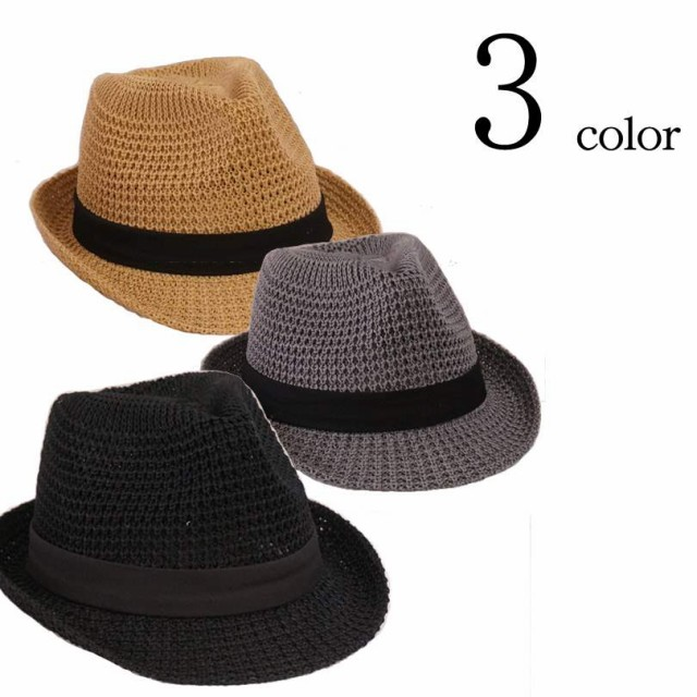 サーモアゼアミ 中折れハット 帽子 HAT シンプル ...