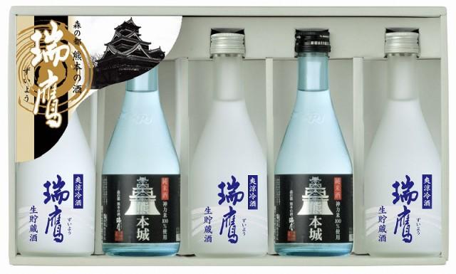瑞鷹 熊本城セレクト5本セット純米酒 熊本城3...