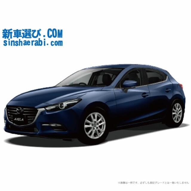《新車 マツダ アクセラスポーツ 4WD 1500 15S PR...