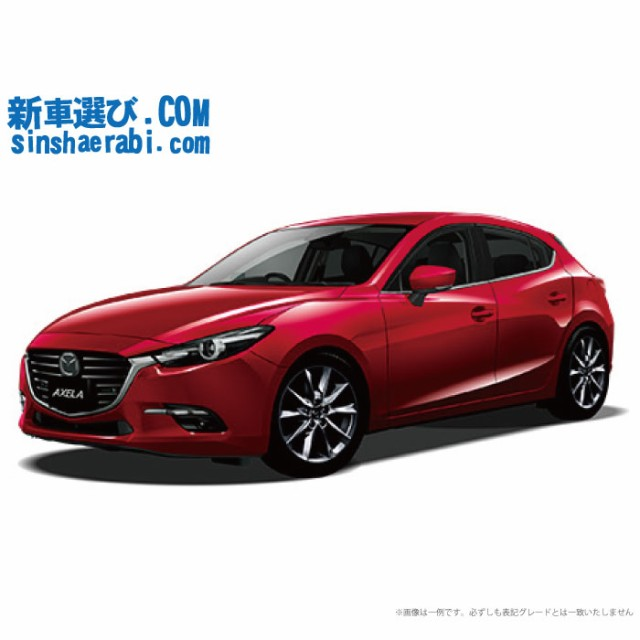 《新車 マツダ アクセラスポーツ 4WD 1500 15S L ...