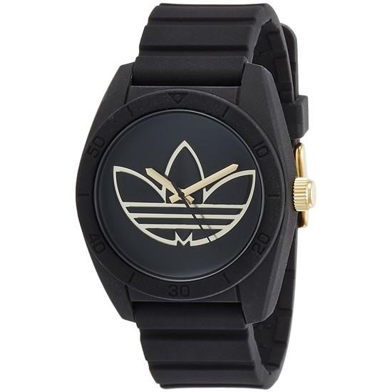 adidas サンティアゴ 腕時計 adh3197 ブラック ゴ...