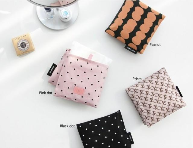 【ICONIC】Plain secret pouch プレインサニタリ...