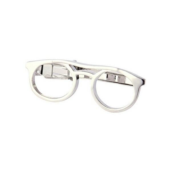 ネクタイピン メガネ メガネ愛好家、メガネが似合...