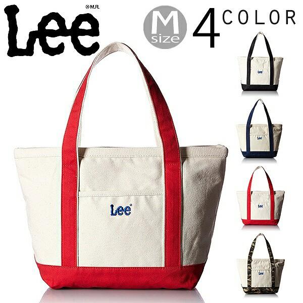 リー Lee キャンバス トートバッグ 手提げ鞄 M 04...