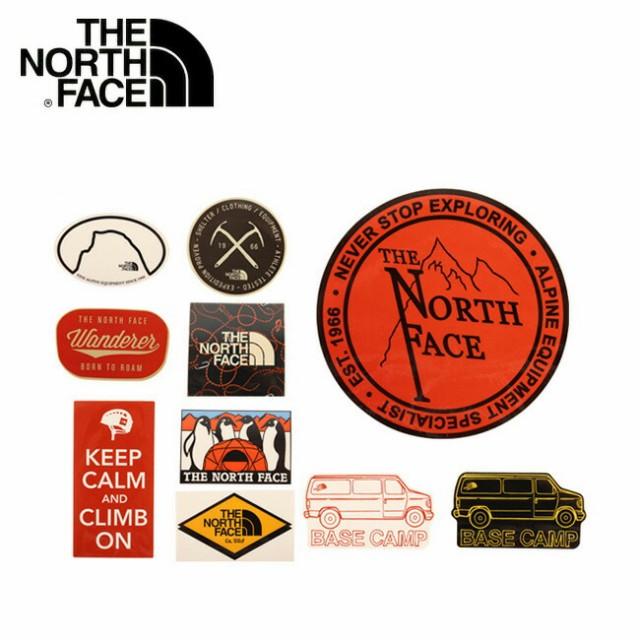 ノースフェイス THE NORTH FACE ステッカー TNFプ...