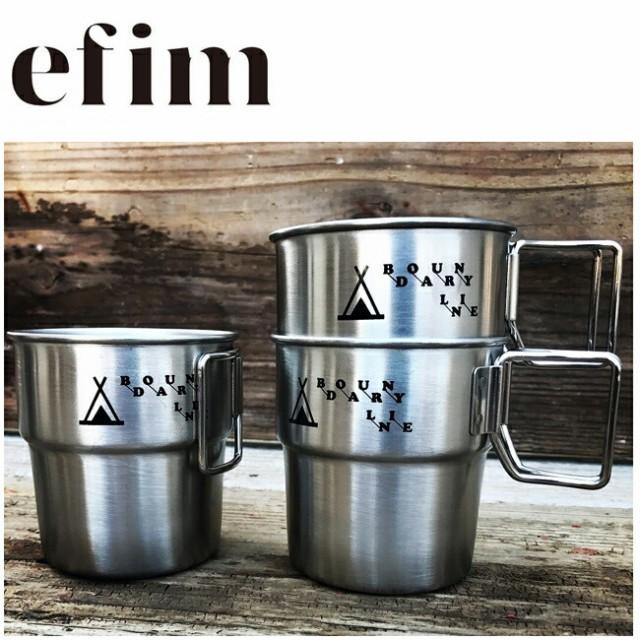 efim エフィム マグカップ BOUNDARY LINE Stackin...