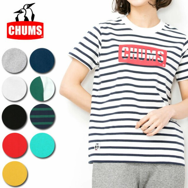 チャムス chums Tシャツ CHUMS Logo T-Shirt Wome...