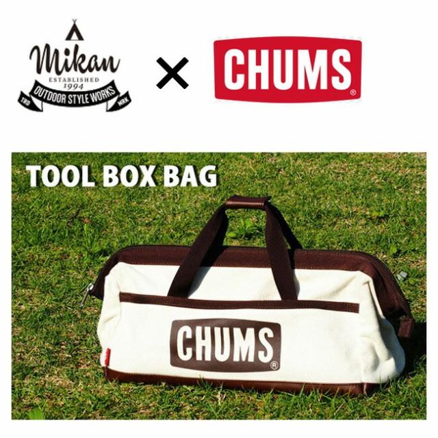 CHUMS×MIKAN ミカン Tool Box Bag ツールボック...