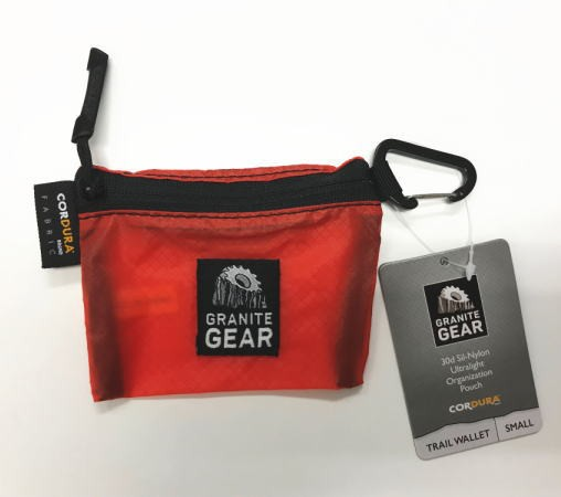 GRANITE GEAR グラナイトギア TRAIL WALLET S ト...