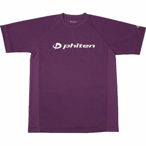 phiten ファイテン RAKUシャツ SPORTS[吸汗速乾] ...