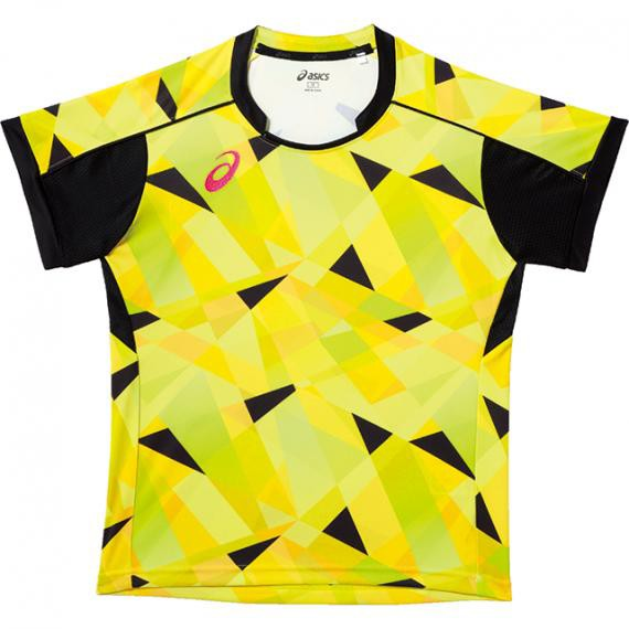 asics アシックス 卓球 WsゲームシャツHS半袖 XK2...