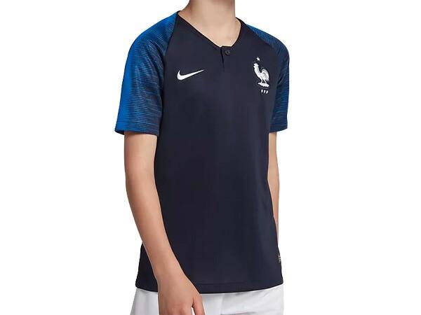 ナイキ:【ジュニア】2018 フランス代表 ホームレ...