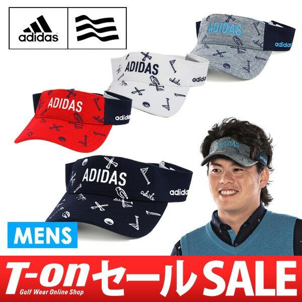 サンバイザー メンズ アディダス ゴルフ adidas G...