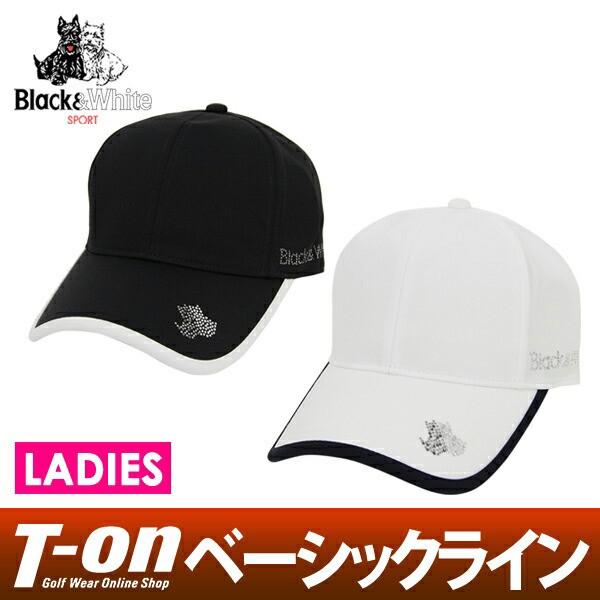 キャップ レディース ブラック&ホワイト Black&...
