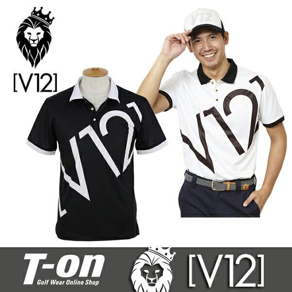 ポロシャツ メンズ ヴィ・トゥエルブ V12 ゴルフ ...