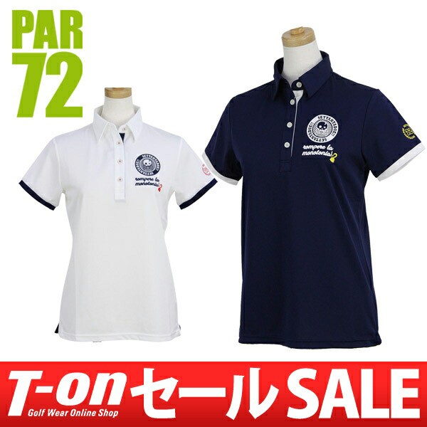 ポロシャツ レディース パー72 PAR72 日本正規品 ...