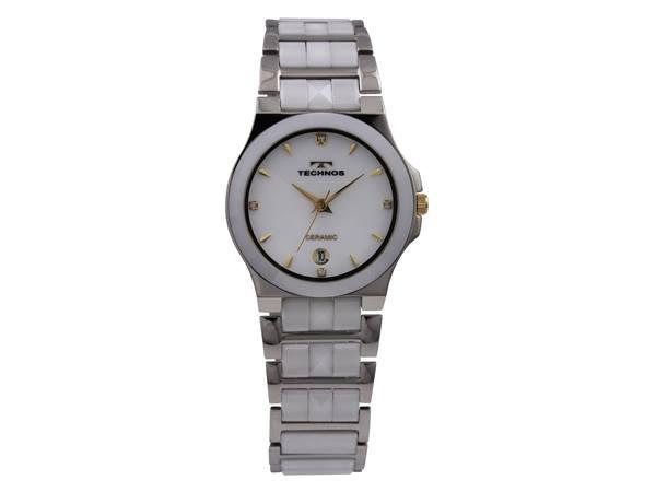 TECHNOS テクノス T9364TW メンズ 腕時計 セラミ...