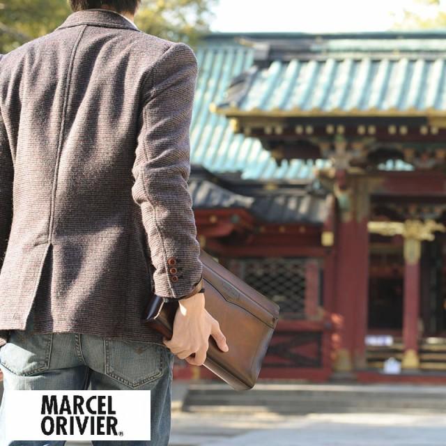 MARCEL ORIVIER 日本製セカンドバッグ シャドー N...