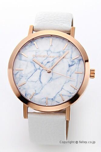 CHRISTIAN PAUL クリスチャンポール 腕時計 Marbl...