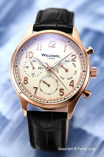 WILLIAM L. ウィリアムエル 腕時計 メンズ Vintag...