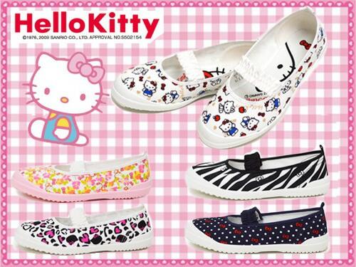 【上履き】 Hello Kitty ハローキティ S04 ホワイ...