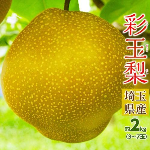 梨 ナシ なし 送料無料 埼玉県産 「彩玉梨」 約2...
