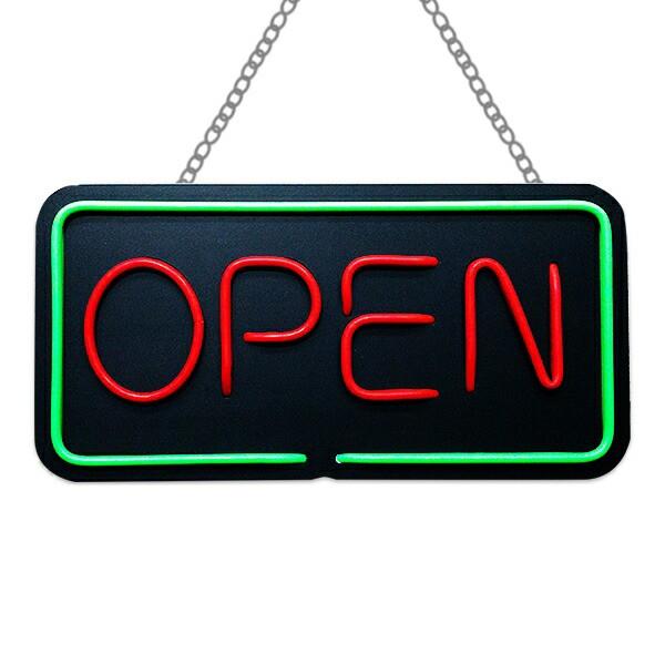 看板 LED ネオン サインボード 店舗用 オープン O...
