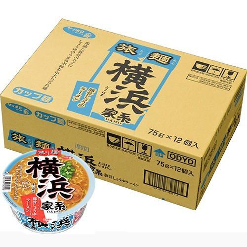 【ケース販売】サッポロ一番 旅麺 横浜家系 豚骨...