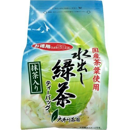 お徳用 抹茶入り水出し緑茶(5g*50包)