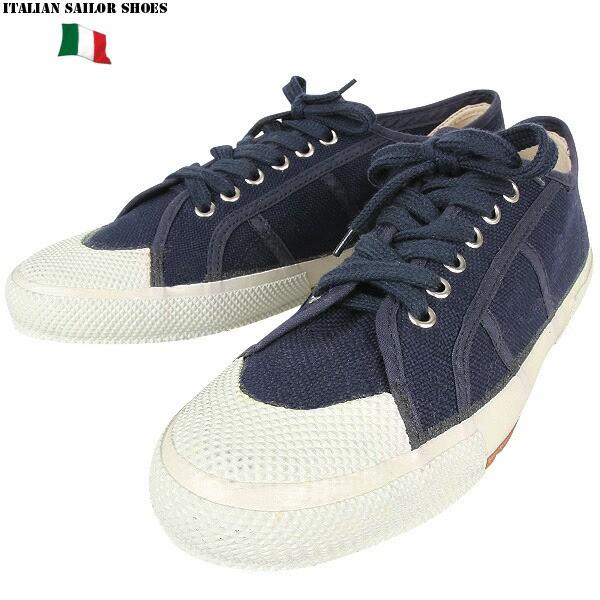 【T】実物 新品 イタリア海軍 セーラーシューズ