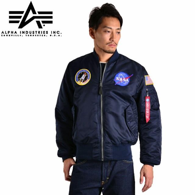 【T】ALPHA INDUSTRIES アルファ USA NASA 100th ...
