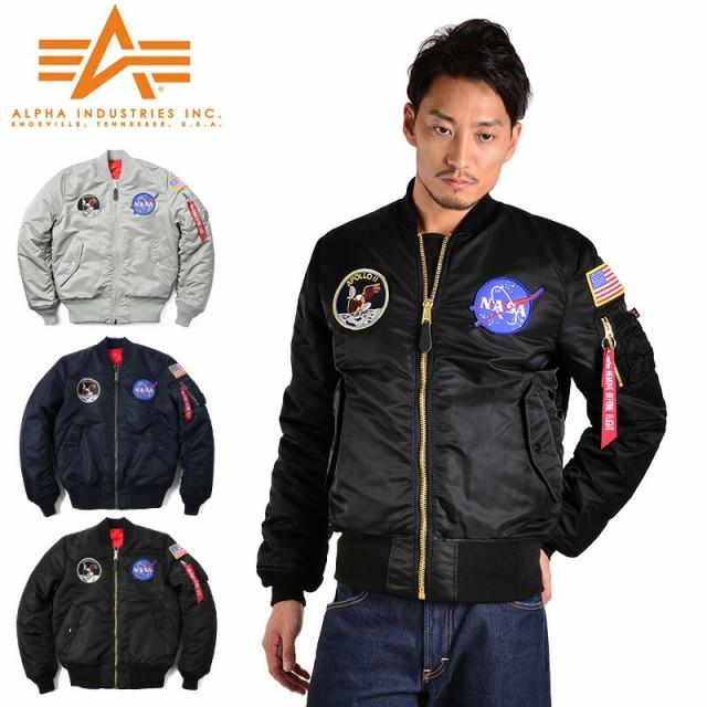【T】ALPHA INDUSTRIES アルファ NASA APOLLO MA-...