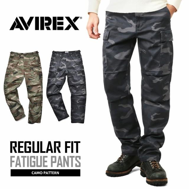 AVIREX アビレックス FATIGUE PANTS ファティーグ...